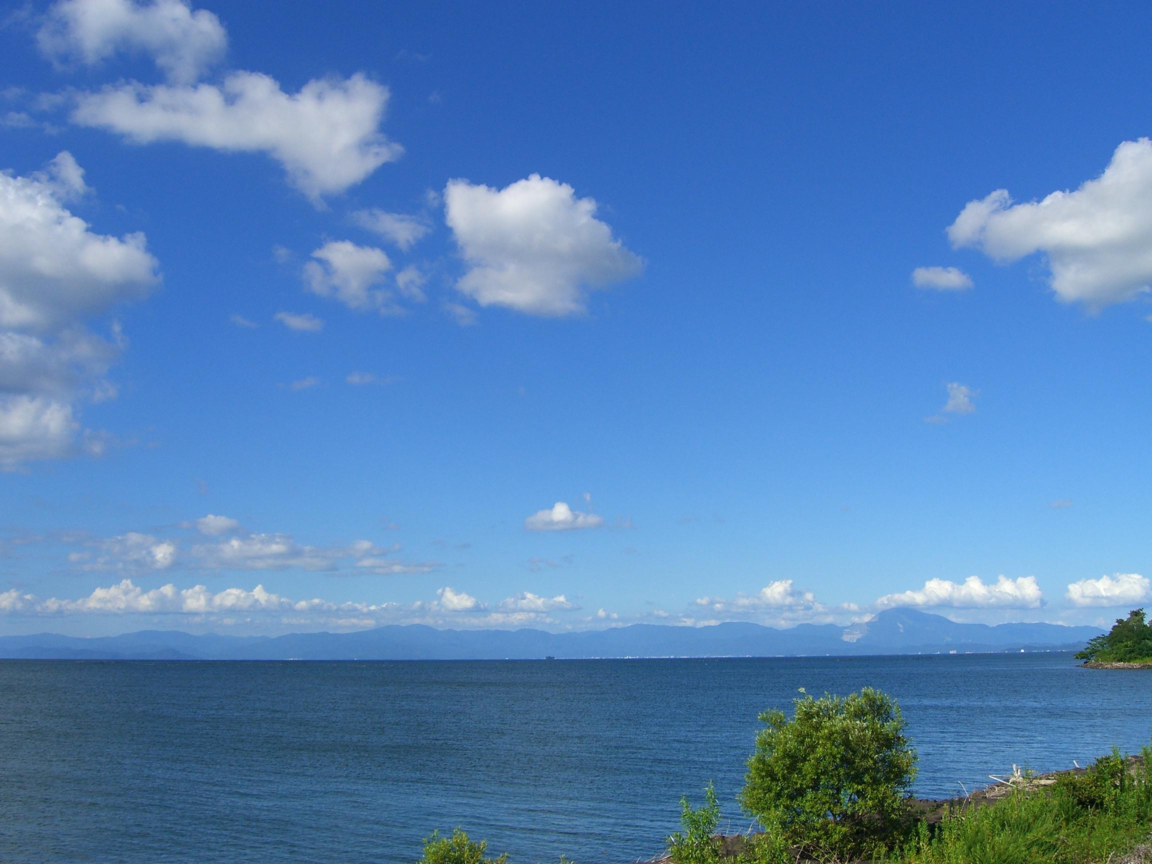 銀龍がいる琵琶湖