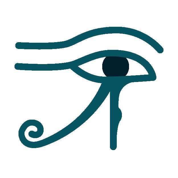 スピリチュアルなホルスの目