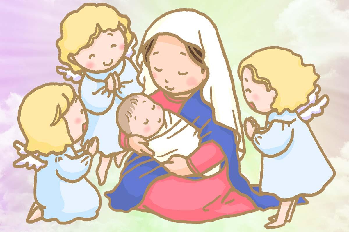 スピリチュアルな聖母マリア